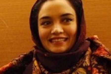 عکس یادگاری هانیه توسلی،میترا حجار و رضا یزدانی در جشنواره فجر/بهمن 92