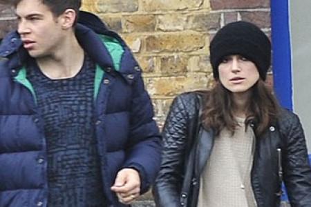 عکسهای جدید کایرا نایتلی (بازیگر دزدان دریایی کاراییب) و همسرش جیمز رایتون در لندن