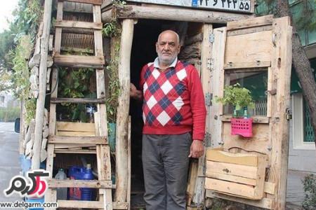 خلاقیتی جالب از پیرمرد ایرانی+عکس