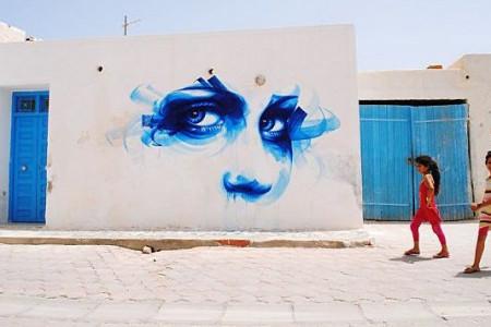 نقاشی های خیابانی زیبا در تونس