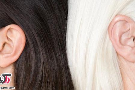 سفید شدن موها / کمبود چه ماده ی غذایی در بدن باعث سفید شدن موها میشود؟