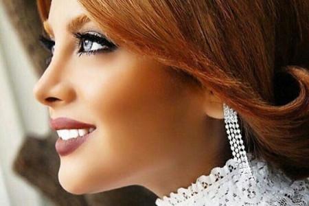 جدیدترین مدل از آرایش چهره ی عروس ایرانی 2016