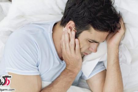 عوارض خوابیدن همراه با استرس