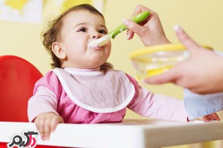 ترفند های جالب برای غذا دادن به بچه ها