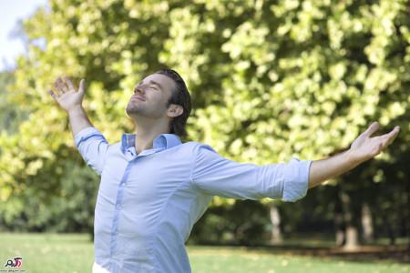 کنترل اضطراب با تنفس
