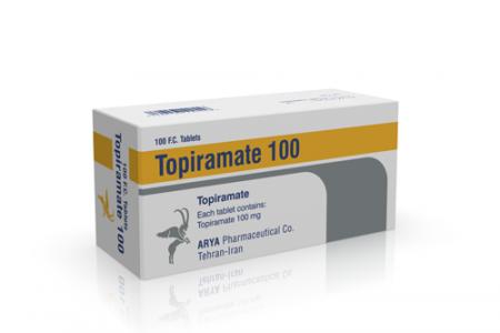 قرص توپیرامات (درمان تشنج و صرع)