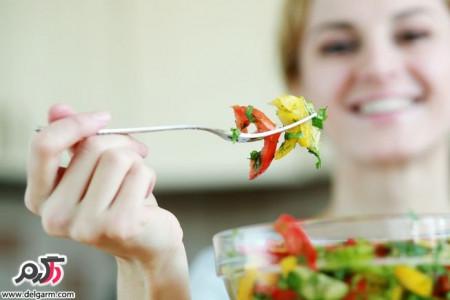 خطرات خام گیاهخواری مطلق و عوارض آن برای سلامتی بدن
