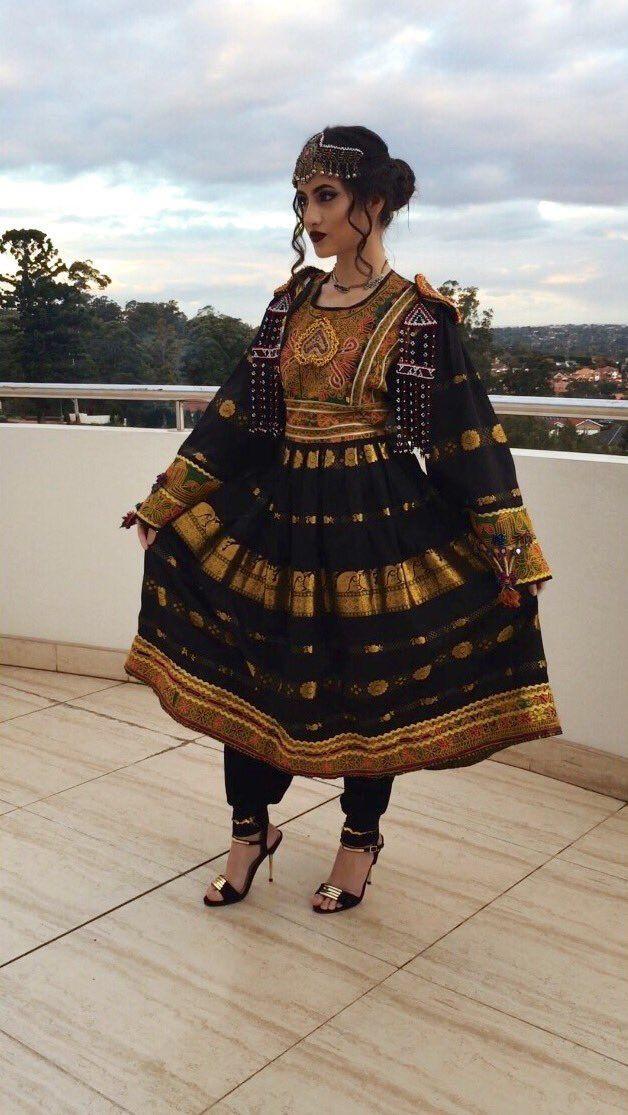 مدل لباس افغانی مجلسی زنانه و دخترانه جدید و بسیار زیبا 2018
