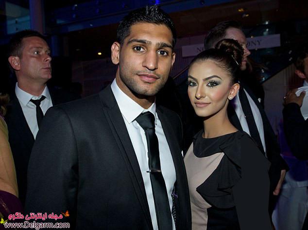 عکسهای امیر خان و همسرش