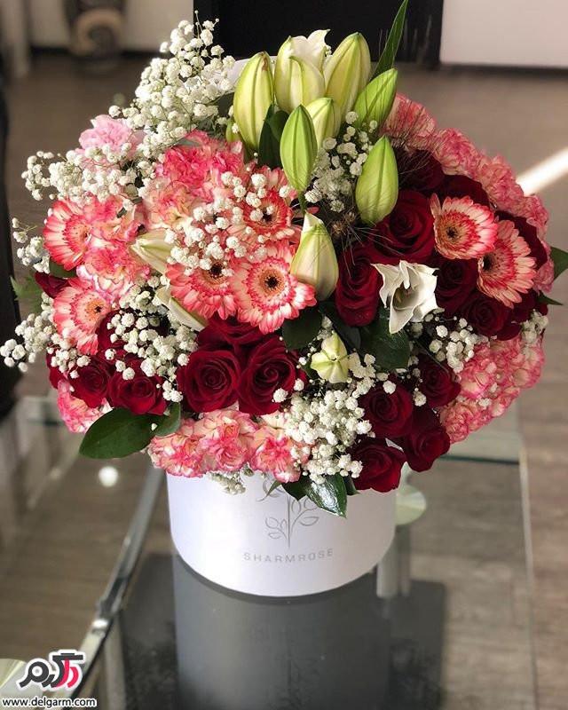 مدل های زیبای باکس گل طبیعی (45 عکس)