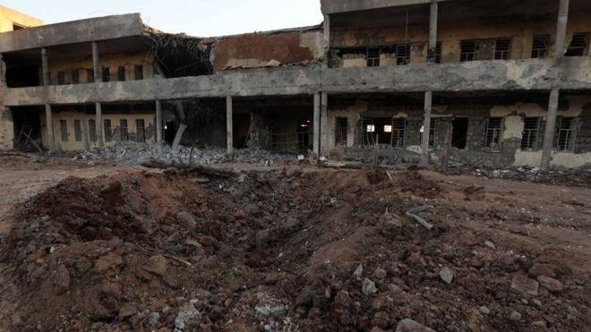 حمله موشکی سپاه ایران به حزب دموکرات کردستان