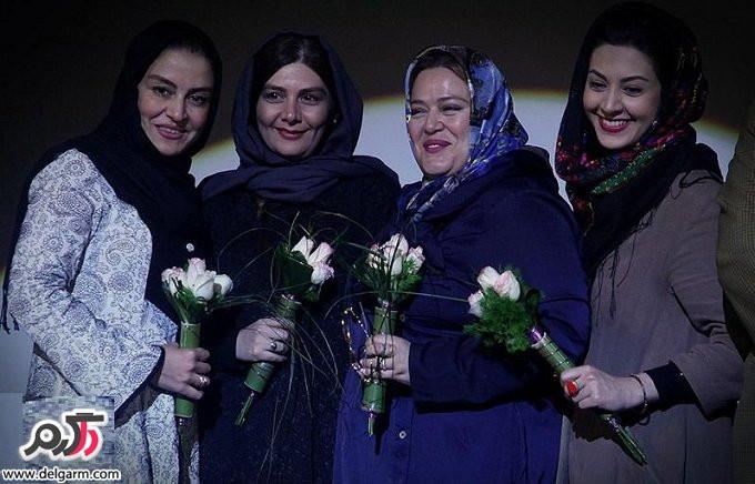 عکسهای بازیگران در مراسم آیین افتتاحیه اکران 5 فیلم نوروزی
