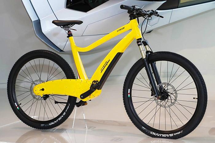 لامبورگینی و معرفی دوچرخه برقی
