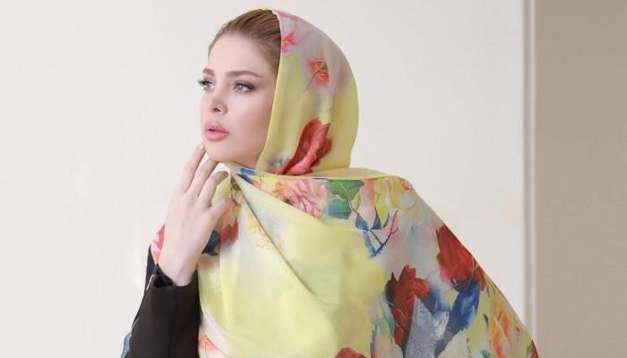 مدل های جدید شال و روسری حریر و نخی 2018 سری 2