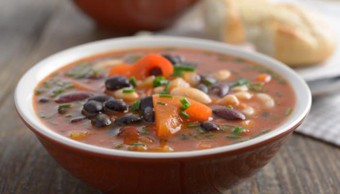 سوپ لوبیا | طرز تهیه ی سوپ لوبیا و گوشت