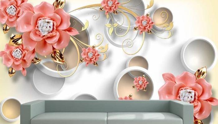 عکس از کاغذ دیواری جدید برای منزل با طراحی شیک و زیبا