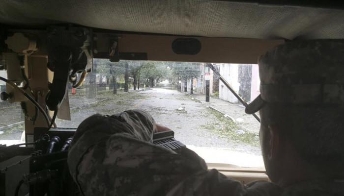 تصاویر طوفان متیو در ایالت های کارولینا