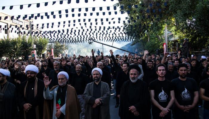 تصاویر تجمع بزرگ عاشوراییان در اراک