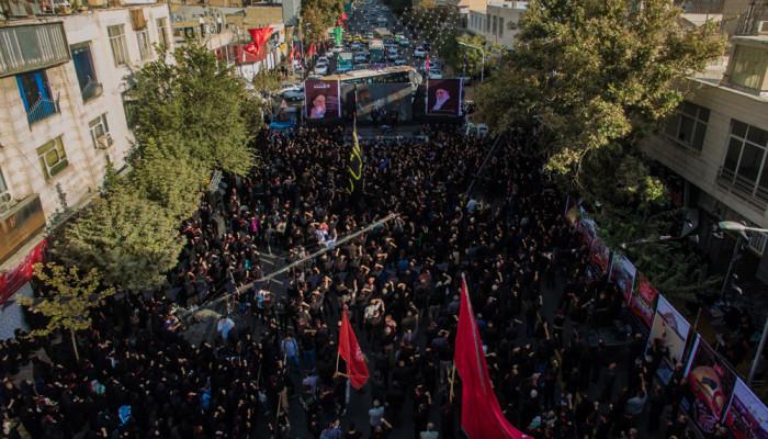 تصاویر تجمع بزرگ عاشورائیان در کرج