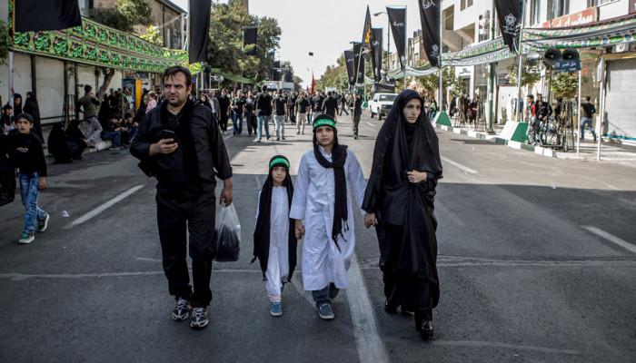 تصاویر عزداری با شکوه حسینیه اعظم زنجان در یوم العباس