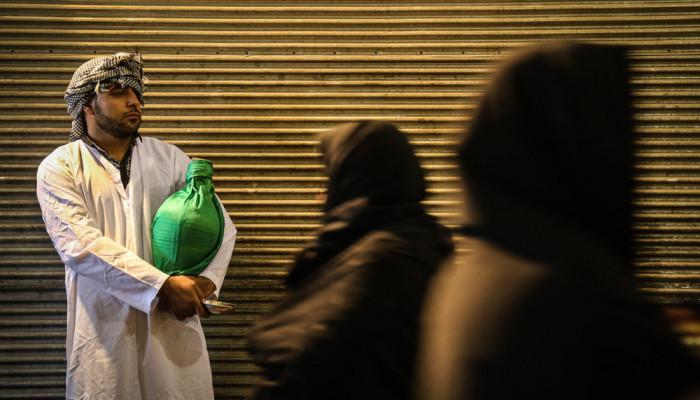 تصاویر عزاداری تاسوعای حسینی در حرم عبدالعظیم حسنی (ع)