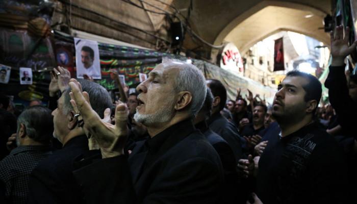 تصاویر عزاداری تاسوعای حسینی - بازار تهران