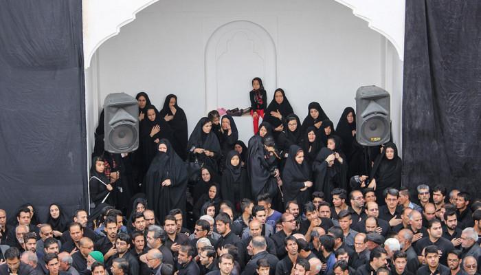 تصاویر مراسم عزاداری سید و سالار شهیدان در حسینه امام رضا(ع) بیرجند