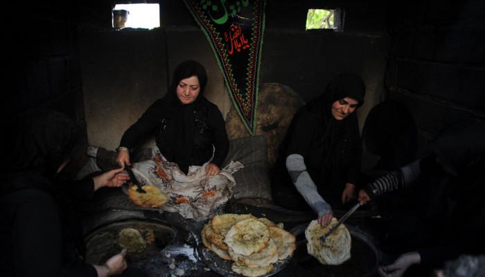 تصاویر مراسم تعزیه در روستای آب اسک لاریجان