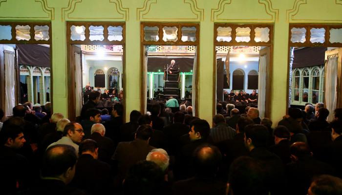 تصاویر مراسم عزاداری روز عاشورا در حسینیه بنکدار اصفهان