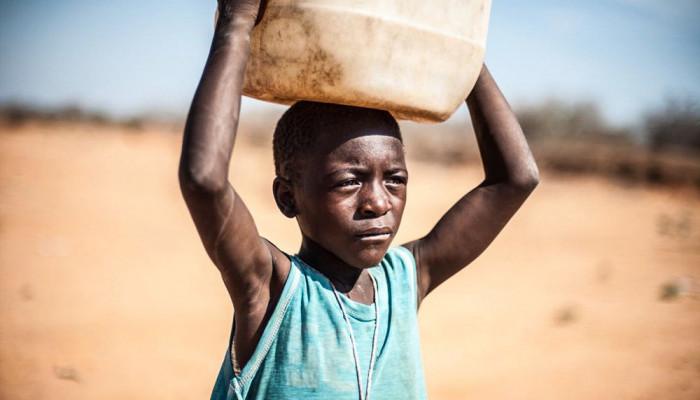 تصاویر خشکسالی در موزامبیک