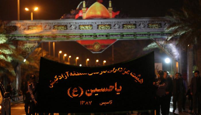 تصاویر مراسم شب عاشورای حسینی در جزیره کیش