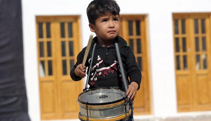 تصاویر کودکان عاشورایی در قاب تصویر
