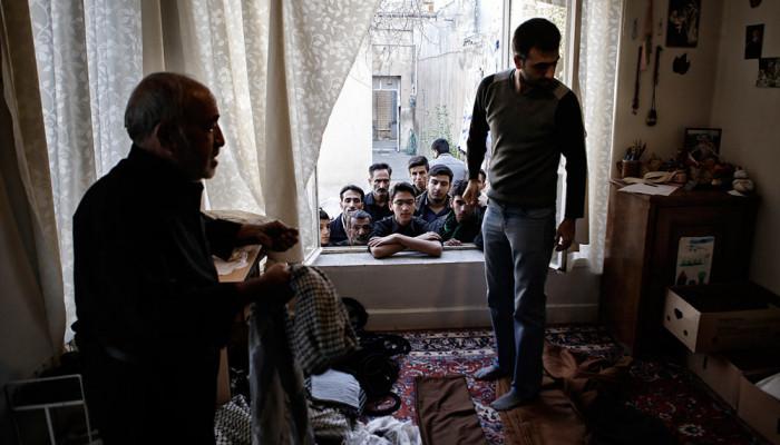 تصاویر برگزاری مراسم سنتی طایفه بنیاسد در همدان