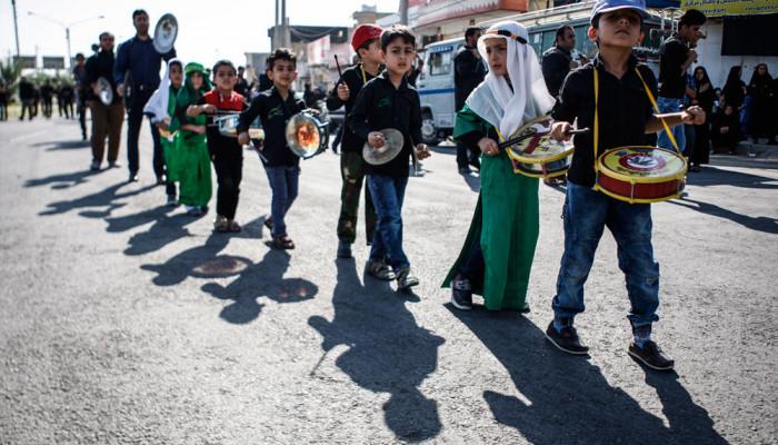 تصاویر کودکان در مراسم عزاداری ماه محرم