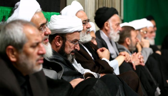 تصاویر ششمین شب عزاداری ایام محرم ۱۴۳۸ در حسینیه امام خمینی