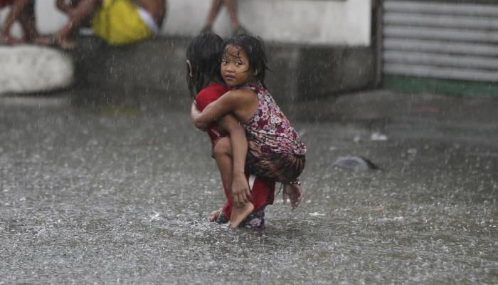 تصاویر طوفان در فیلیپین