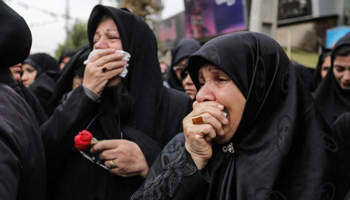 تصاویر تشییع پیکر مطهر دو شهید گمنام در کرج