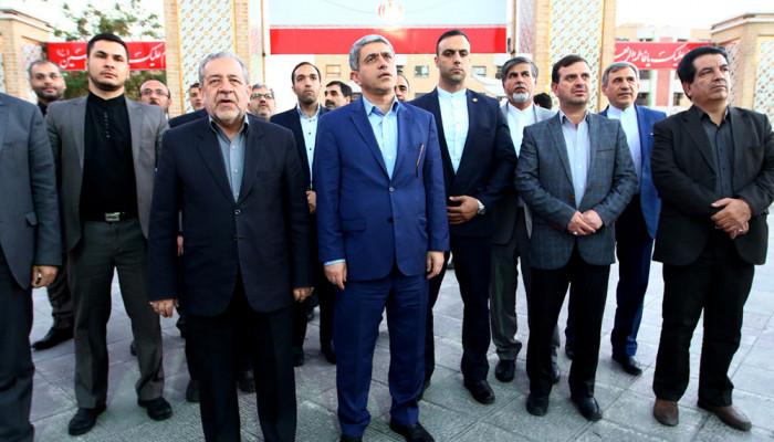 تصاویر سفر وزیر امور اقتصادی و دارایی به اصفهان