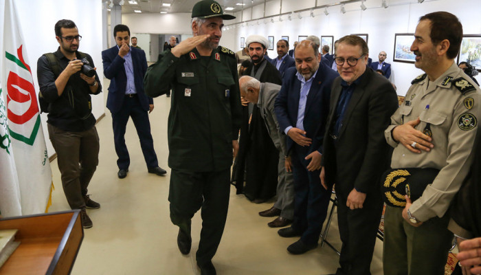 تصاویر افتتاح تالار پیروزی در باغ موزه دفاع مقدس