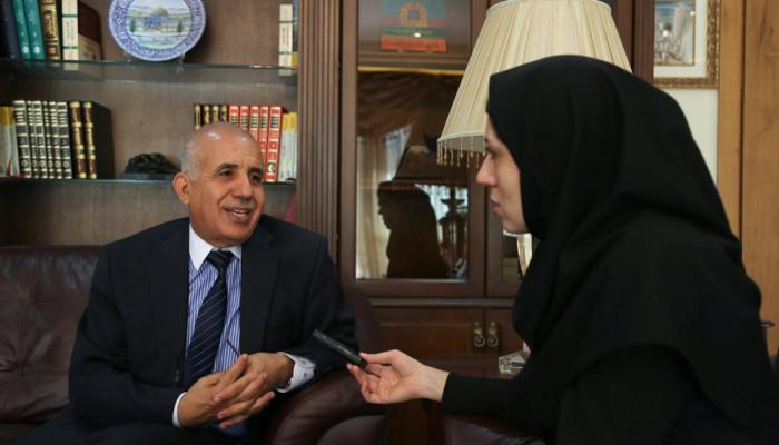 تصاویر گفت و گو با سفیر الجزایر