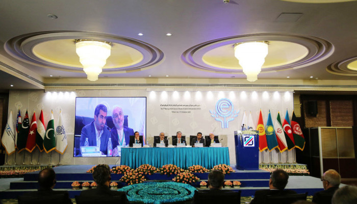 تصاویر اجلاس روسای گمرکات کشورهای عضو اکو