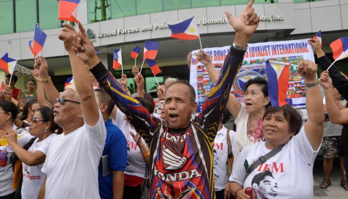 تصاویر خاکسپاری دیکتاتور سابق فیلیپین