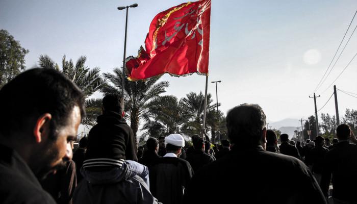 تصاویر مراسم پیاده روی اربعین حسینی در لارستان