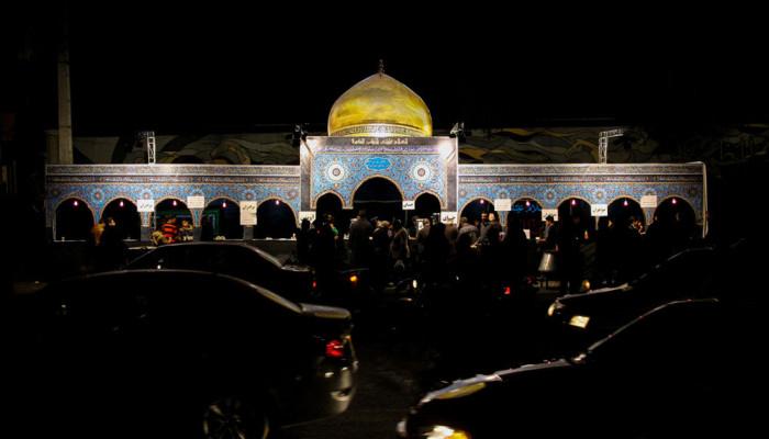 تصاویر مراسم عزاداری اربعین حسینی در لارستان