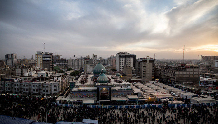تصاویر اربعین حسینی در کربلای معلی  -  راهپیمایی اربعین ۵۳