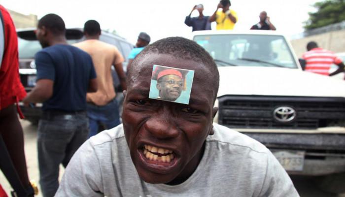 تصاویر درگیری های پس ازانتخابات در هائیتی