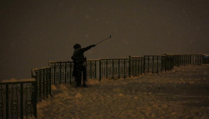 تصاویر تهران پس از بارش برف