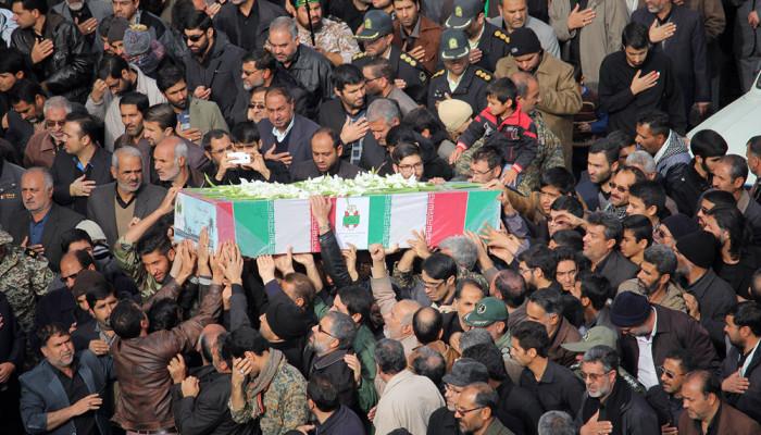 تصاویر تشییع شهدای گمنام در بیرجند