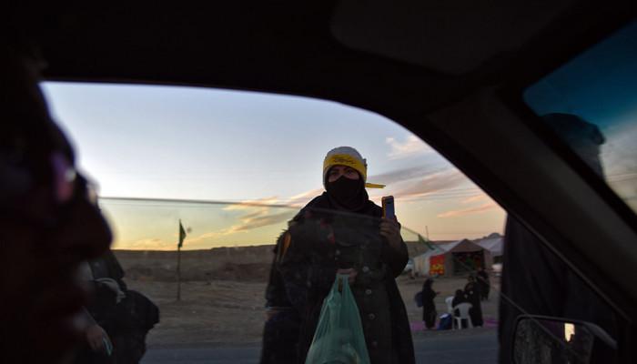 تصاویر کاروان پیاده به سمت مشهد