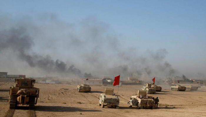 تصاویر جنگ خیابانی در موصل